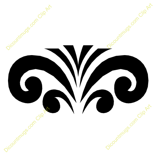 Free Fountain Swirls Clipart Custom Clip Art