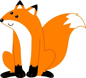 Free Fox Clip Art Image Clip Art Illustration Of An Orange And