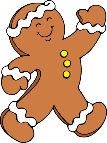 Free Gingerbread Man Clip Art