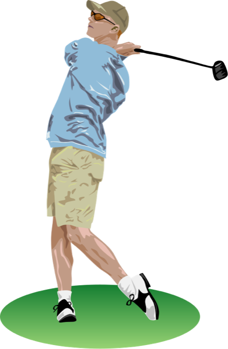 Best golf clipart 7373 for Free clipart animations