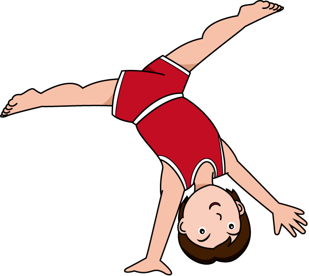 Free Gymnastics Line Clipart Free Clip Art Images
