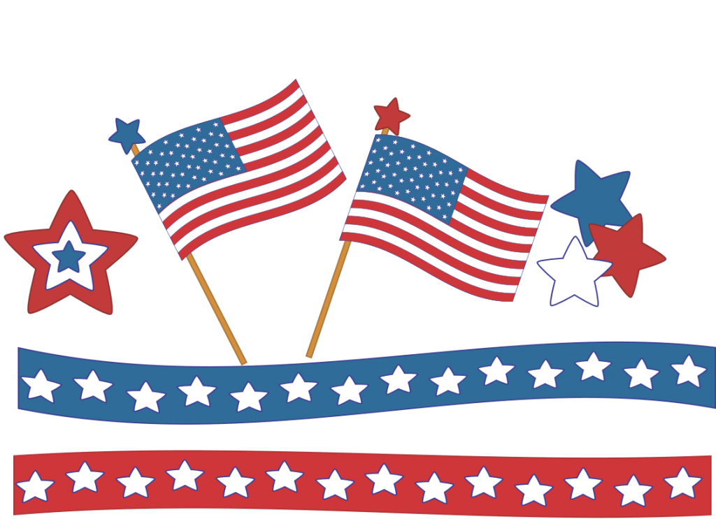 Free July 4th Clipart 1 Png