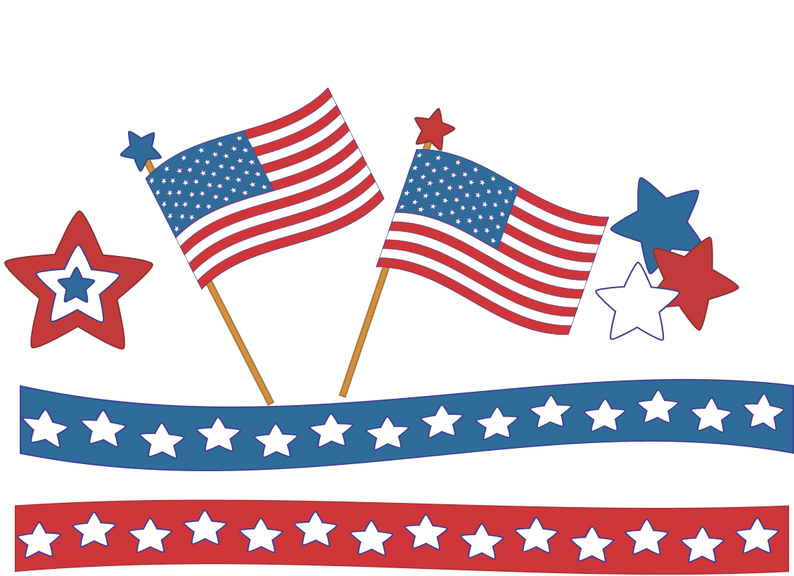 Best 4th Of July Clipart #6684 - Clipartion.com
