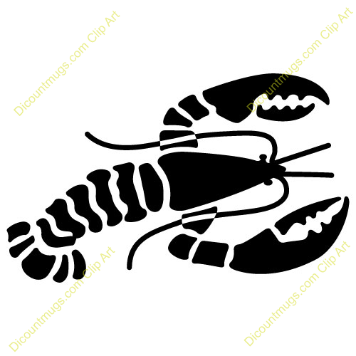 Free Lobster Right Clipart Custom Clip Art