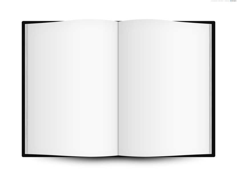 Free Printable Open Book Template