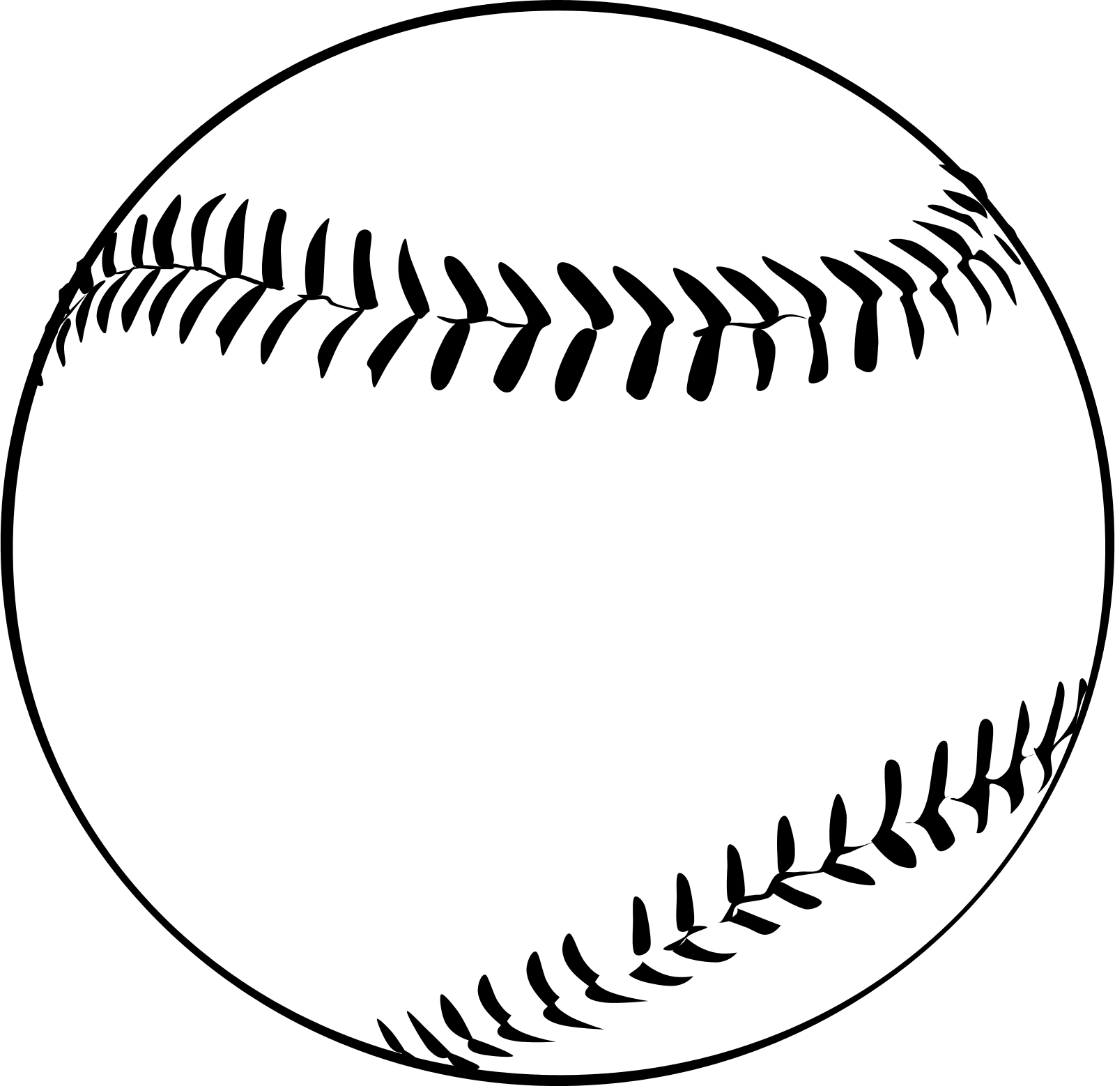 Free Softball Vector Images