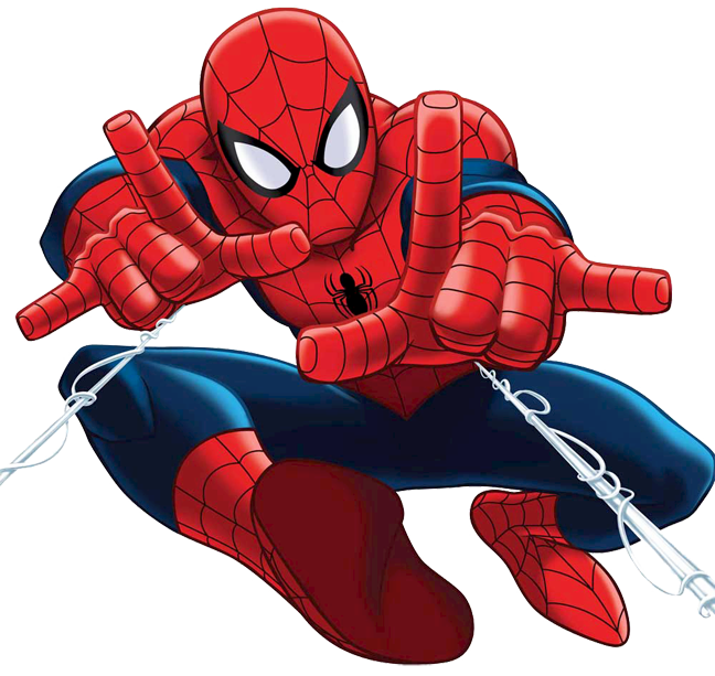 Free Spiderman Clipart