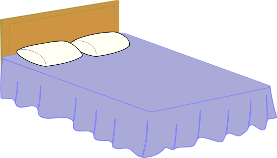 Free To Use Amp Public Domain Bed Clip Art