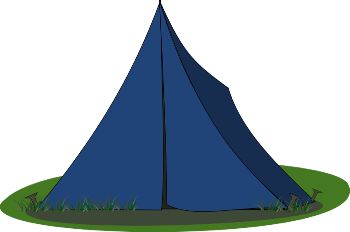 Free To Use Amp Public Domain Camping Tent Clip Art
