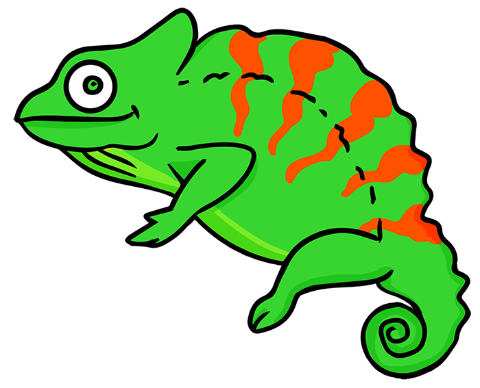 Free To Use Amp Public Domain Chameleon Clip Art