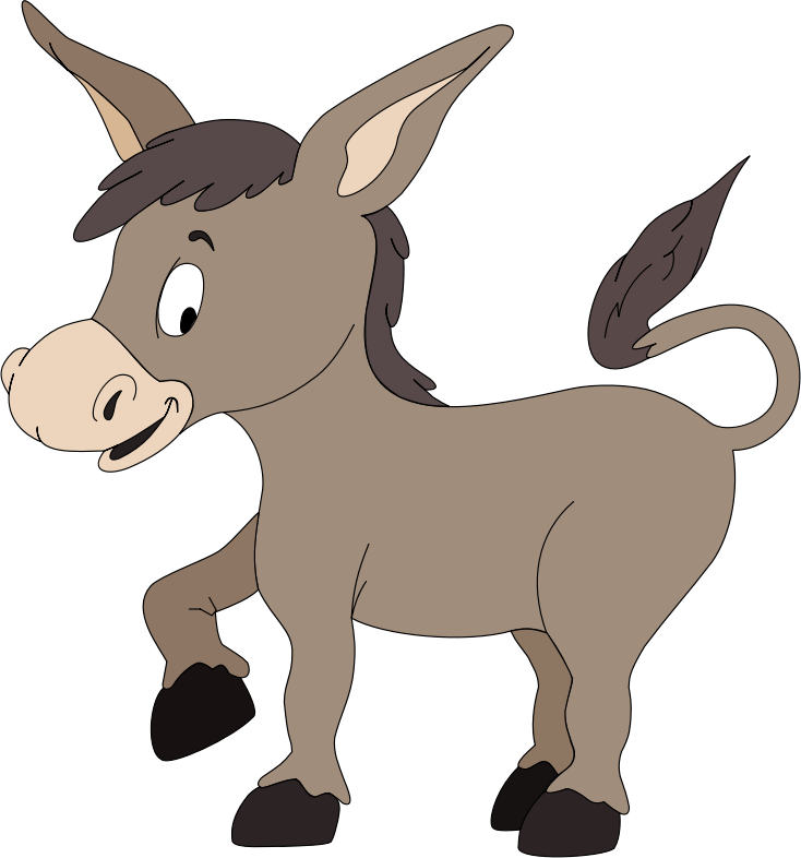 Free To Use Amp Public Domain Donkey Clip Art