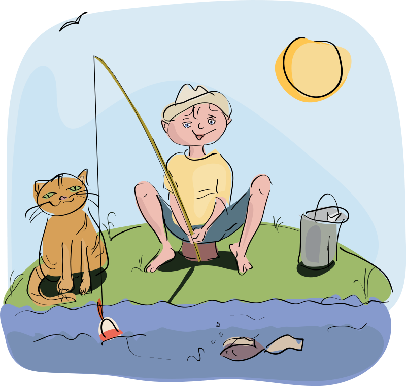 Free To Use Amp Public Domain Fishing Clip Art