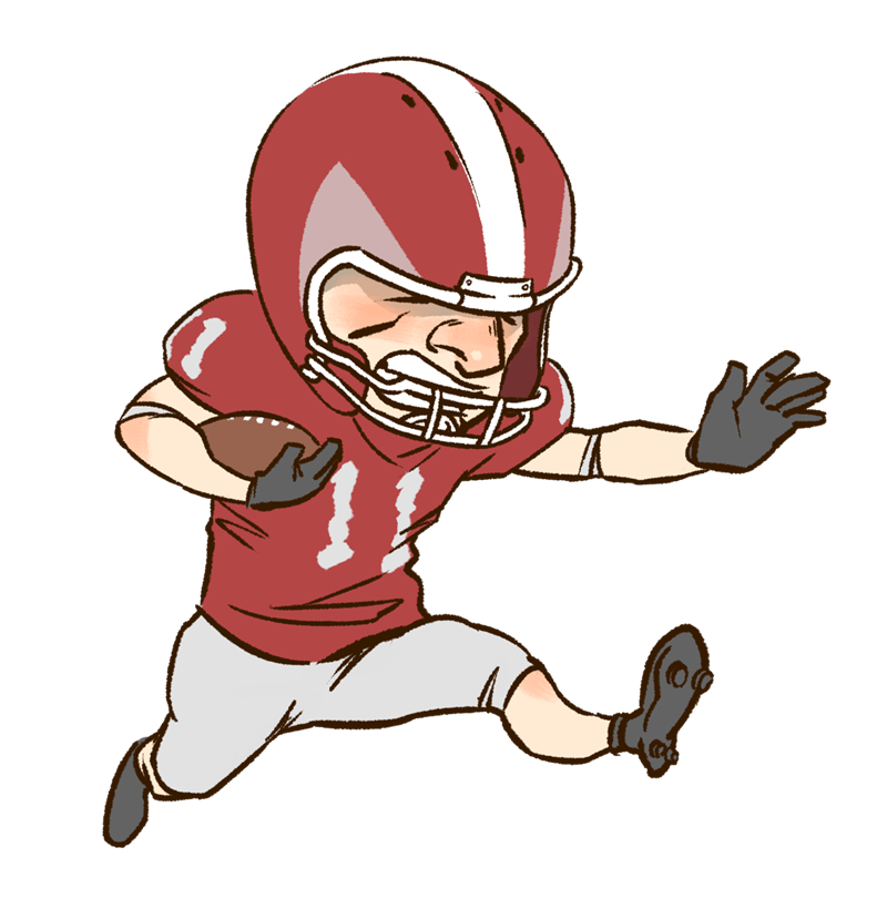 Free To Use Amp Public Domain Football Clip Art