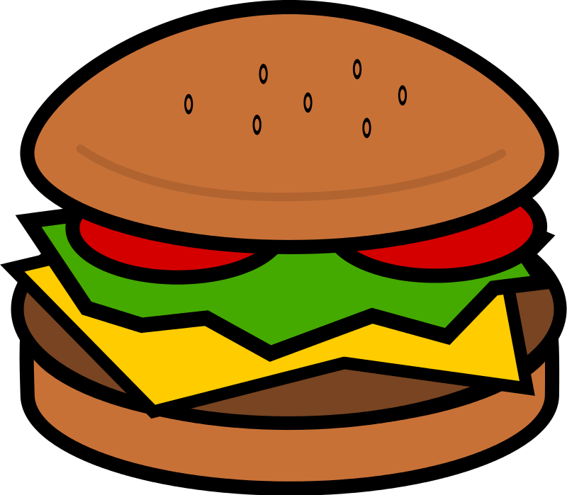 Free To Use Amp Public Domain Hamburger Clip Art