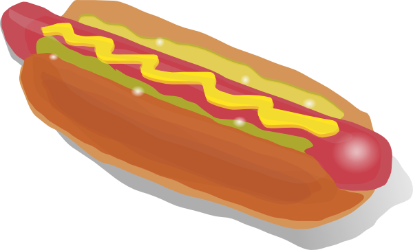 Free To Use Amp Public Domain Hot Dog Clip Art