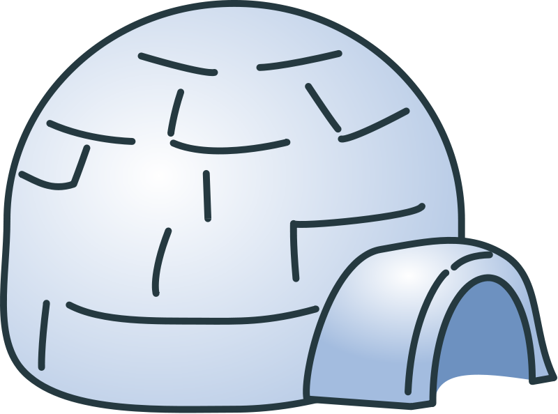 Free To Use Amp Public Domain Igloo Clip Art
