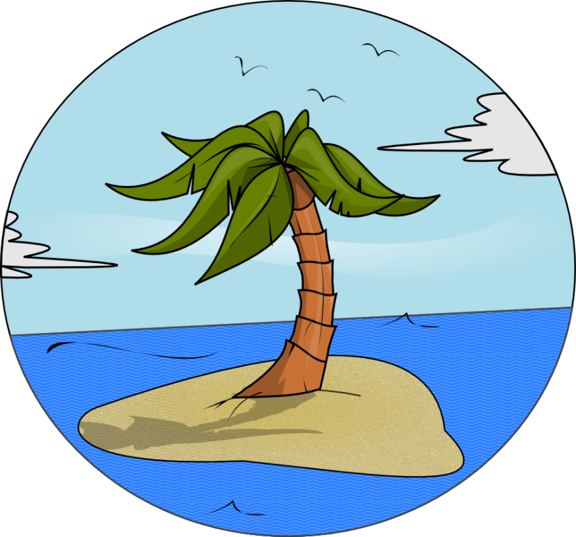 Free To Use Amp Public Domain Island Clip Art
