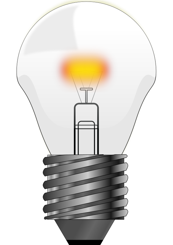 Free To Use Amp Public Domain Light Bulb Clip Art Page 2