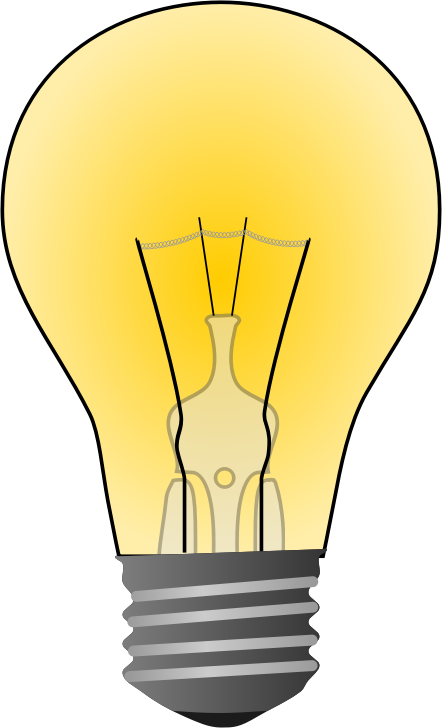 Free To Use Amp Public Domain Light Bulb Clip Art