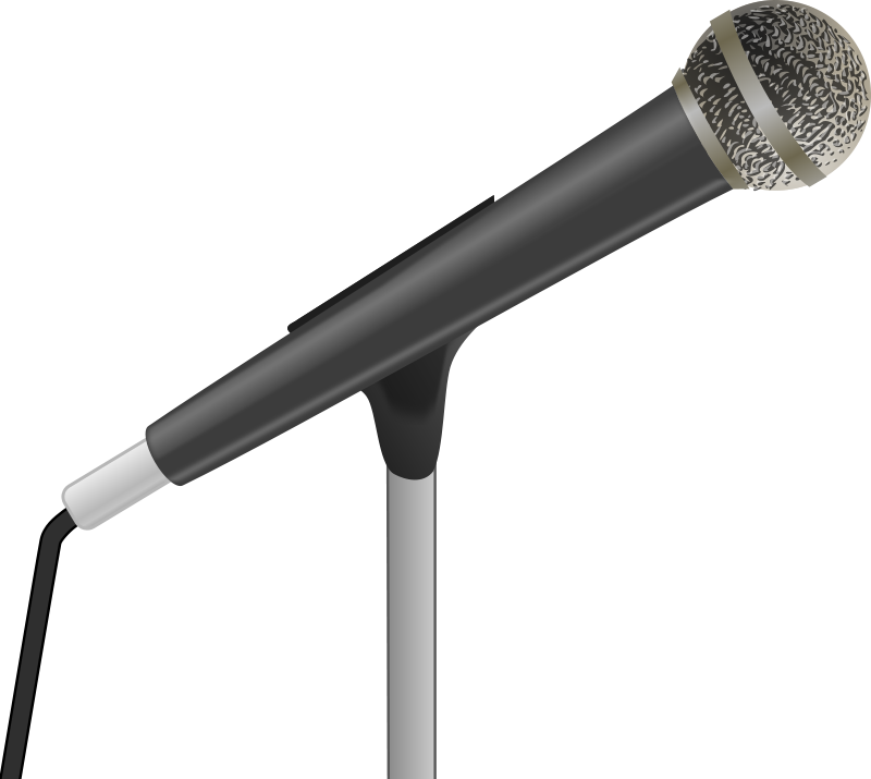Free To Use Amp Public Domain Microphone Clip Art