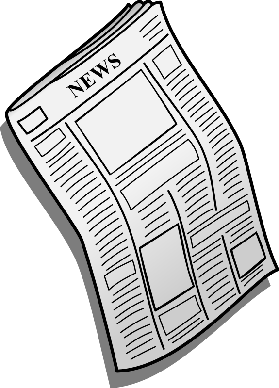 Free To Use Amp Public Domain Newspaper Clip Art