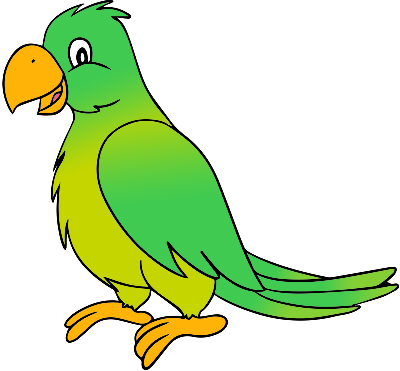 Best Parrot Clipart #16718 - Clipartion.com