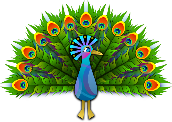 Free To Use Amp Public Domain Peacock Clip Art
