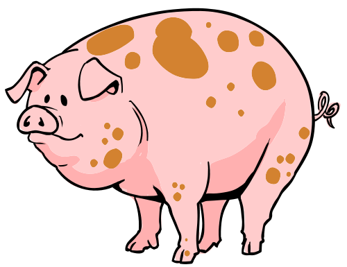 Free To Use Amp Public Domain Pig Clip Art Page 2