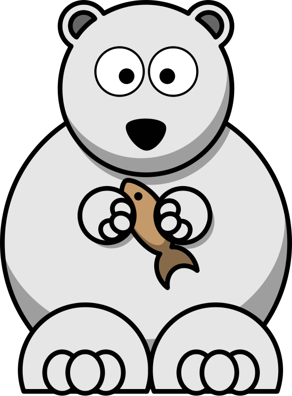 Free To Use Amp Public Domain Polar Bear Clip Art