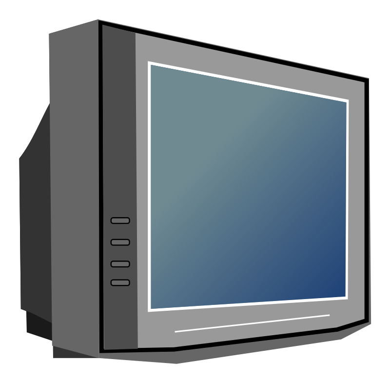 Free To Use Amp Public Domain Television Clip Art