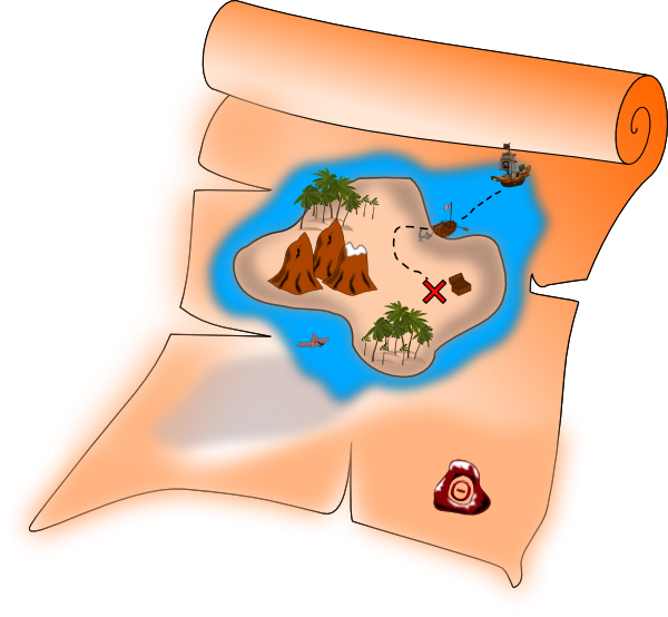 Free To Use Amp Public Domain Treasure Map Clip Art