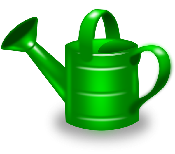 Free To Use Amp Public Domain Watering Can Clip Art