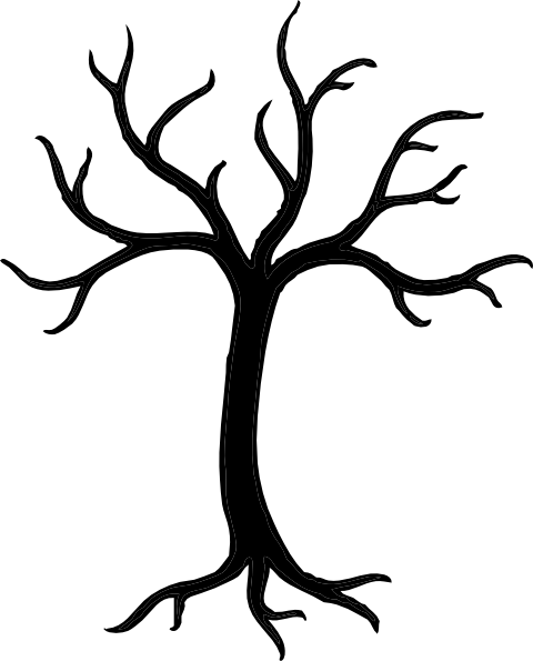 Free Tree Clipart Black And White