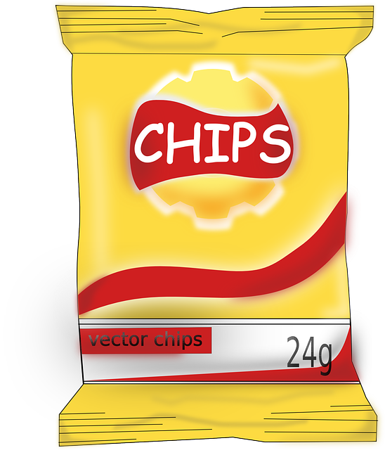 Free Vector Graphic Chips Food Yummy Tasty Free Image On