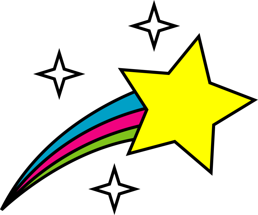 Free Vector Shooting Star