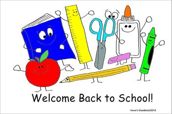 Freebie Back To School Clipart Irene\'s Irene Priest