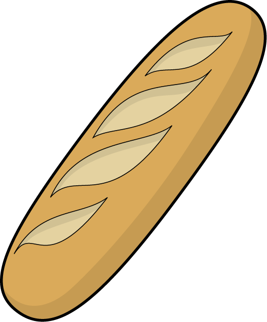 French Bread Clipart