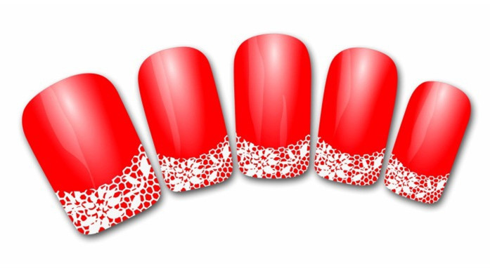 French Tip Manicures And Pedicures Clipart Free Clip Art Images