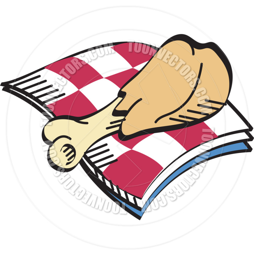 Fried Chicken Cartoon Vector Clipart Free Clip Art Images