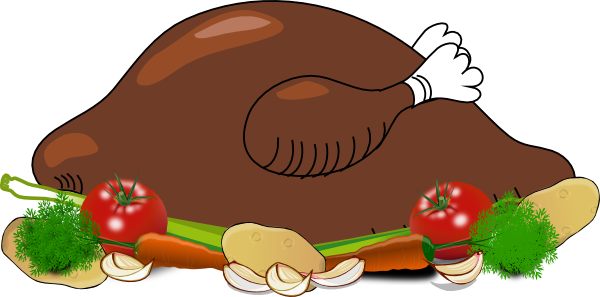 Fried Chicken Dinner Clipart