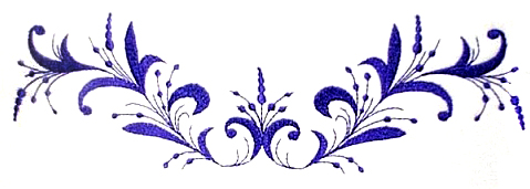 Frill And Scroll Embroidery Designs