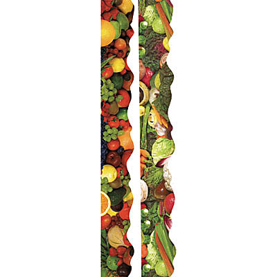 Fruit And Vegetable Bulletin Board Borders Clipart Free Clip Art
