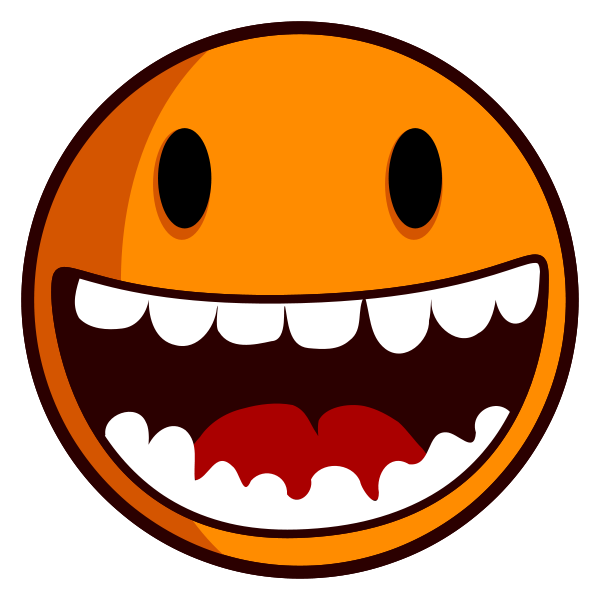 Funny Laughing Face Cartoon