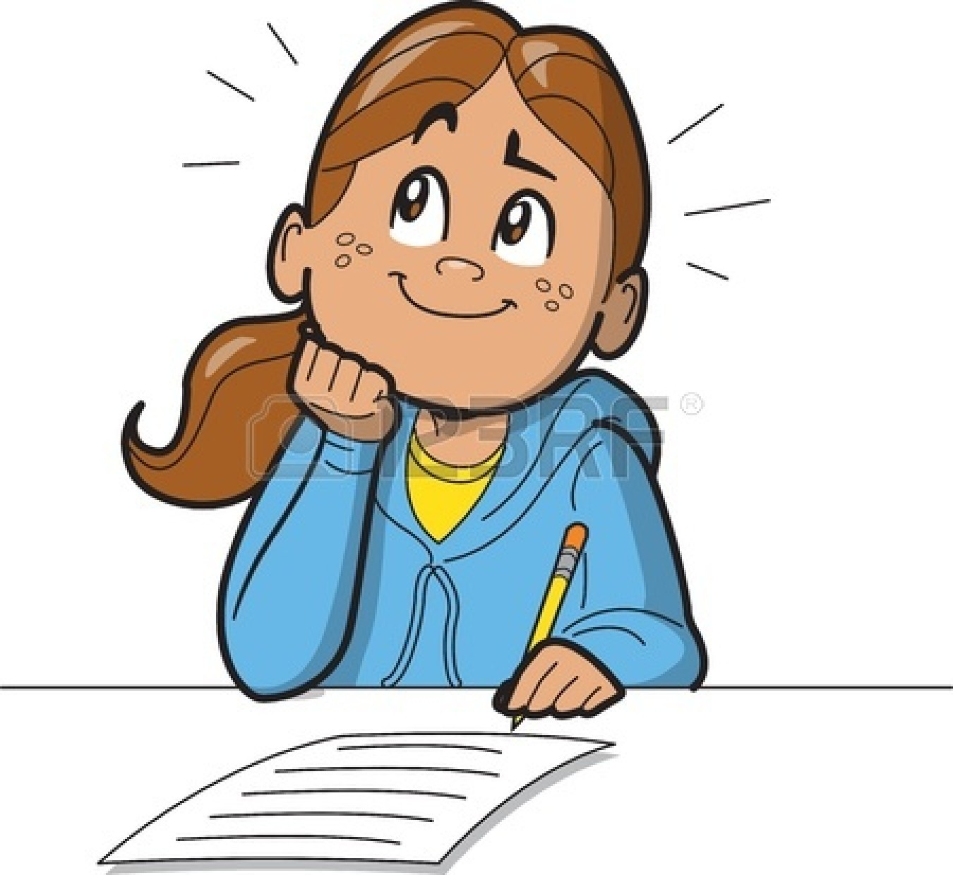 Best Girl Student Clipart #20343 - Clipartion.com