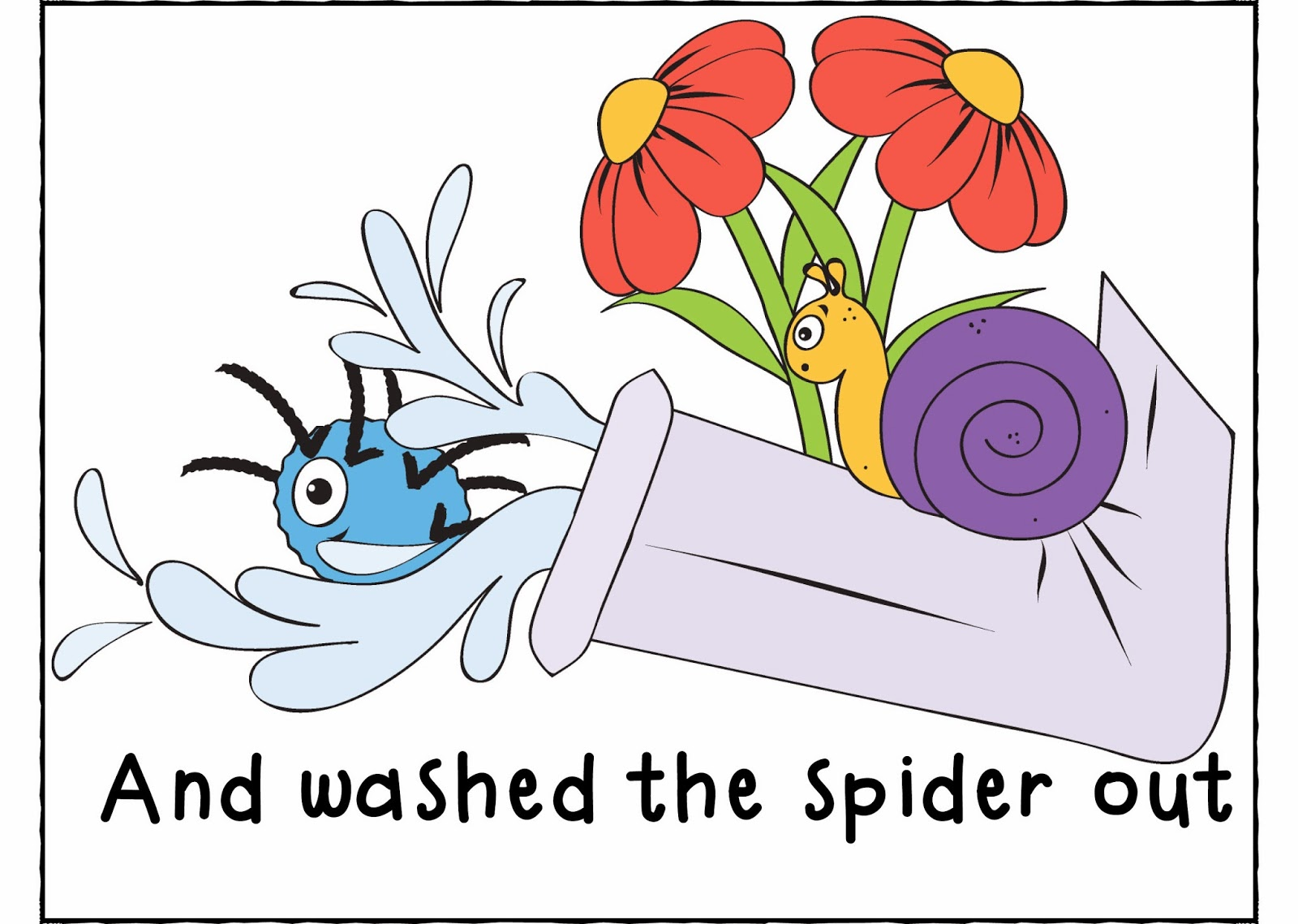 Funny Miss Val Rie Itsy Bitsy Spider
