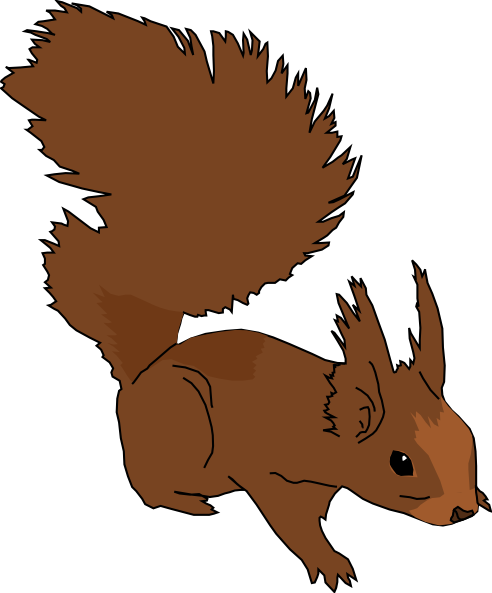 Funny Squirrel Clipart Free Clipart Images
