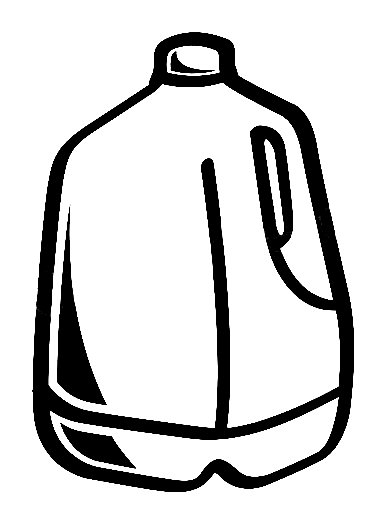 Gallon Of Milk Clipart Gallery