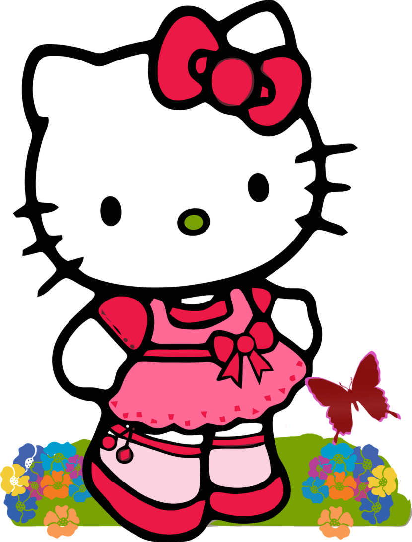 Best hello kitty clipart 13856 - Hello kitty image ...