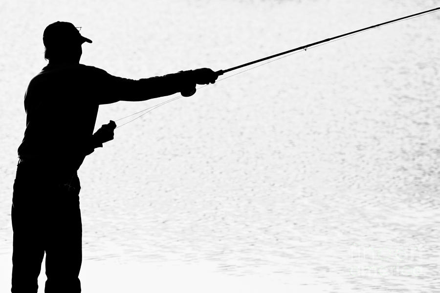Get Fly Fishing Silhouette Image For You Imagegator