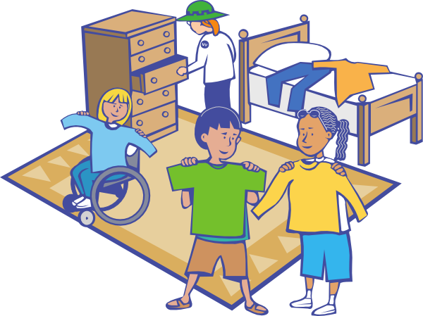 Getting Dressed Clip Art At Vector Clip Art Online